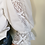 Thumbnail: Vintage Blouse in White with Embroidered Sleeves
