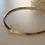 Thumbnail: Vintage 60s Monet Gold Toned Collar Necklace