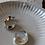 Thumbnail: 70s Vintage Chunky Hoop Oval Earrings