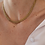 Thumbnail: 70s Vintage Gold Toned Mesh Chain Necklace