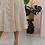 Thumbnail: 90s Vintage Button Down Dress in Beige - (EU42-44)