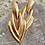 Thumbnail: Vintage Gold Toned Statement Earrings