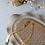 Thumbnail: 80s Vintage Fat Herringbone Necklace