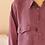 Thumbnail: 90s Vintage Silk Shirt in Tyrian Purple - (EU52)