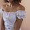 Thumbnail: Vintage Milkmaid Top in White - (EU36-40)