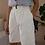 Thumbnail: Vintage Cotton Corduroy Shorts in White