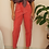 """Thumbnail: Vintage High Waisted Mom Jeans in Red, W26"""" / L30"""""""