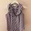 Thumbnail: Vintage Ruffle Neck Blouse in Purple - (EU40)