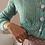 Thumbnail: Vintage Handknitted Cardigan in Mint - (EU 40)
