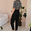Thumbnail: 90s Vintage High Waisted Trousers in Black - (EU42)
