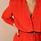 Thumbnail: Vintage 90s Buttoned Up Tea Dress in Red