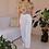 Thumbnail: 90s Vintage White Cotton Trousers - (EU40-42)