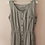 Thumbnail: 90s Vintage Maxi Button Up Dress in Grey
