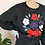 Thumbnail: 90s Vintage Embroidered Sweater in Black