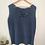 Thumbnail: Vintage Silk Top in Navy Blue