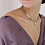 Thumbnail: Vintage Statement Gold Chain Bead Necklace