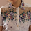 Thumbnail: 80s Vintage Floral Collar Dress in White - (EU44)