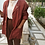 Thumbnail: Vintage Oversized Linen Blazer in Brown