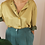 Thumbnail: Vintage Button Up Shirt in Mustard