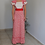 Thumbnail: Vintage Maxi Floral Dress in Red - (EU 36)
