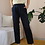 Thumbnail: 90s Vintage Smart Casual Trousers in Navy Blue, W26/L29
