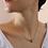 Thumbnail: 70s Vintage Art Deco Necklace