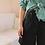 Thumbnail: Vintage High Waisted Denim Shorts in Black ( EU 38)