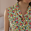 Thumbnail: 90s Vintage Buttoned Up Floral Dress - (EU44)