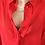 Thumbnail: 90s Vintage Minimalist Blouse in Red