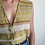 Thumbnail: Vintage Mexican Embroidered Blouse Vest in Green