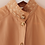 Thumbnail: Vintage 90s Statement Collar Blouse in Peach Orange