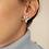 Thumbnail: Vintage 90s Enamel Leaf Earrings