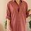 Thumbnail: 90s Vintage Silk/Cotton Shirt in Terra Cotta - (EU48)