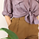 Thumbnail: Vintage High Waisted Tapered Pants in Brown
