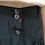 Thumbnail: Vintage Buttoned Up Maxi Skirt in Black