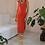 Thumbnail: 90s Italian Vintage Maxi Column Dress  - (EU38)
