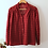Thumbnail: Vintage Lace Blouse in Burgundy