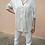 Thumbnail: Vintage Collared Silk Blouse in White
