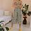 Thumbnail: 90s Vintage Floral Jumpsuit in White - (EU46)