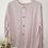 Thumbnail: Vintage Minimal Button Up Blouse in Pastel Purple