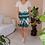Thumbnail: 90s Vintage Floral Green Shorts ( EU 44)