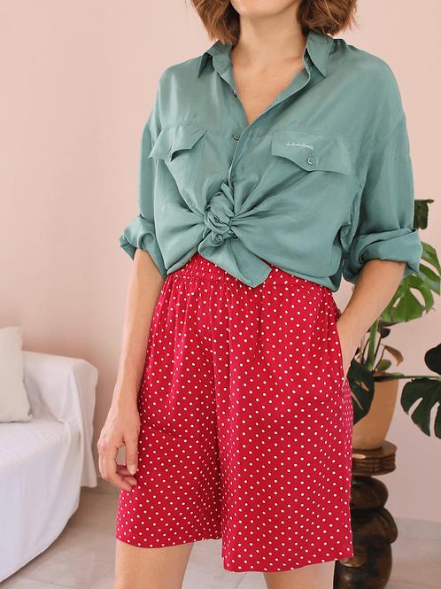 90s Vintage Polka Dot Shorts ( EU 42)