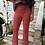 Thumbnail: Vintage Flared Pants in Red Check Print