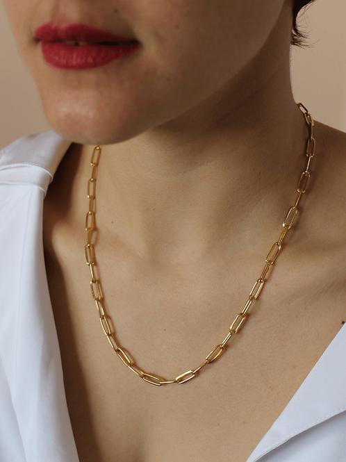 80s Vintage Link Chain Necklace
