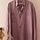 Thumbnail: 90s Vintage Silk Shirt in Pastel Purple - (EU54)