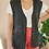 Thumbnail: Vintage 90s Embroidered Wool Vest in Dark Grey
