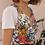 Thumbnail: 90s Vintage Floral Playsuit  - (EU42)
