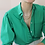 Thumbnail: 90s Vintage Cacharel Blouse in Green