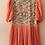 Thumbnail: 80s Vintage Dirndl Style Floral Dress