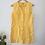 Thumbnail: Vintage Benetton Denim Mini Dress in Yellow